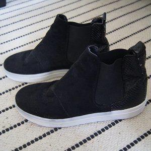 Topshop High-top Slip-on Sneakers